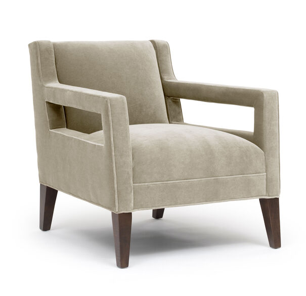 DUKE CHAIR, BOULEVARD - TAUPE GRAY, hi-res