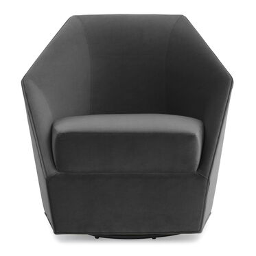 JEWEL FULL SWIVEL CHAIR, VIVID - CHARCOAL, hi-res