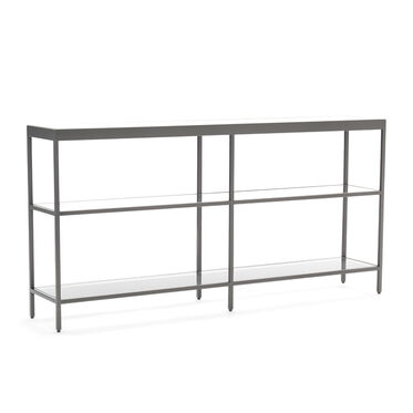 VIENNA LOW BOOKCASE MEDIUM - PEWTER, , hi-res