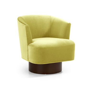 COSTELLO FULL SWIVEL CHAIR, BOULEVARD - CHARTREUSE, hi-res