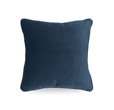 17 IN. SQUARE THROW PILLOW, BOULEVARD - DEEP BLU, hi-res
