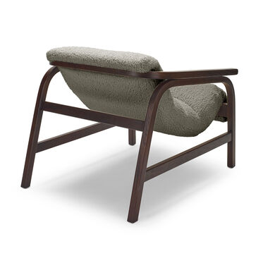 DIXON CHAIR, SHERPA - PEWTER, hi-res
