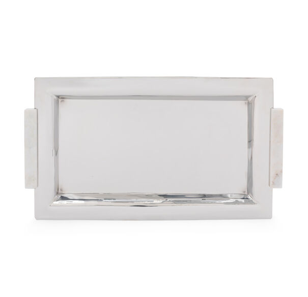 MARBLE HANDLE SERVING TRAY, , hi-res