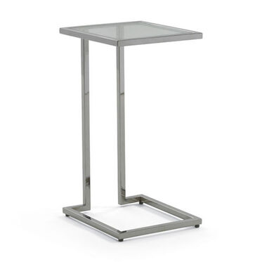 VIENNA PULL-UP TABLE - POLISHED STAINLESS STEEL, , hi-res