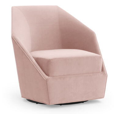 JEWEL FULL SWIVEL CHAIR, VIVID - BLUSH, hi-res