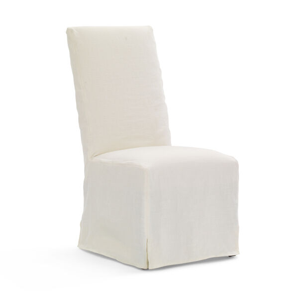 JULIA TALL SIDE DINING CHAIR - SLIPCOVER, , hi-res