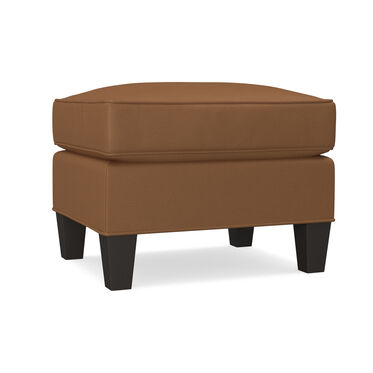 ADDISON NO NAIL LEATHER OTTOMAN, , hi-res
