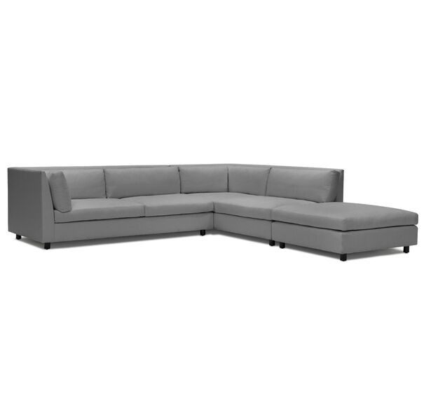 FRANCO RIGHT SECTIONAL SOFA, TERRACE - GRAPHITE, hi-res