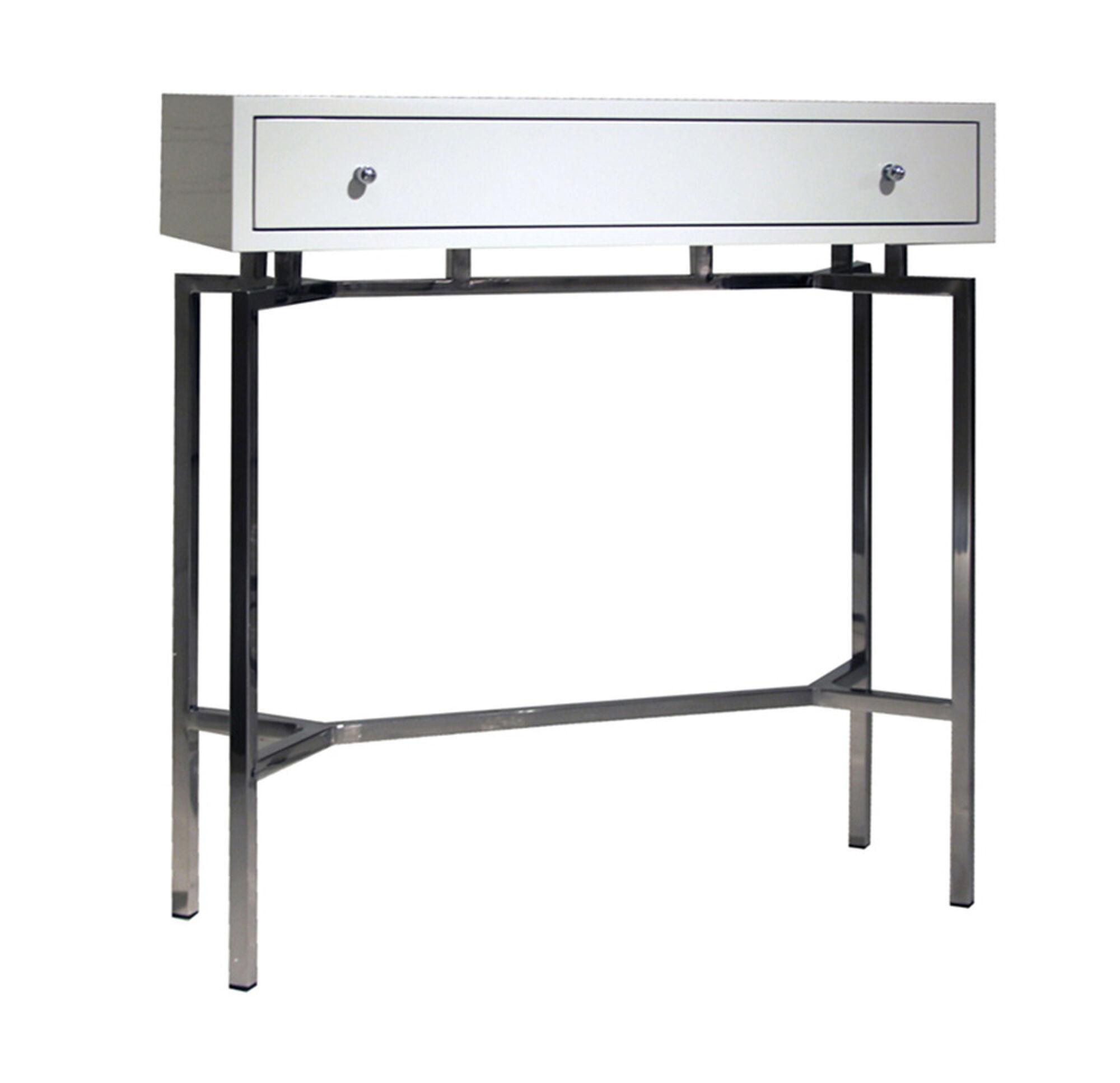 White lacquer sofa table white lacquer console table ikea for Modern white lacquer console table