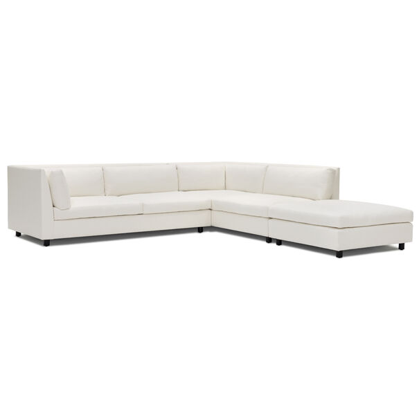 FRANCO RIGHT SECTIONAL SOFA, TERRACE - ALMOND, hi-res