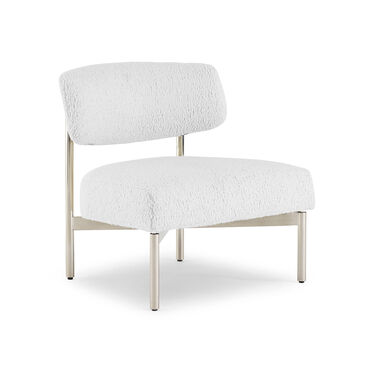 REMY CHAIR, SHERPA - WHITE, hi-res