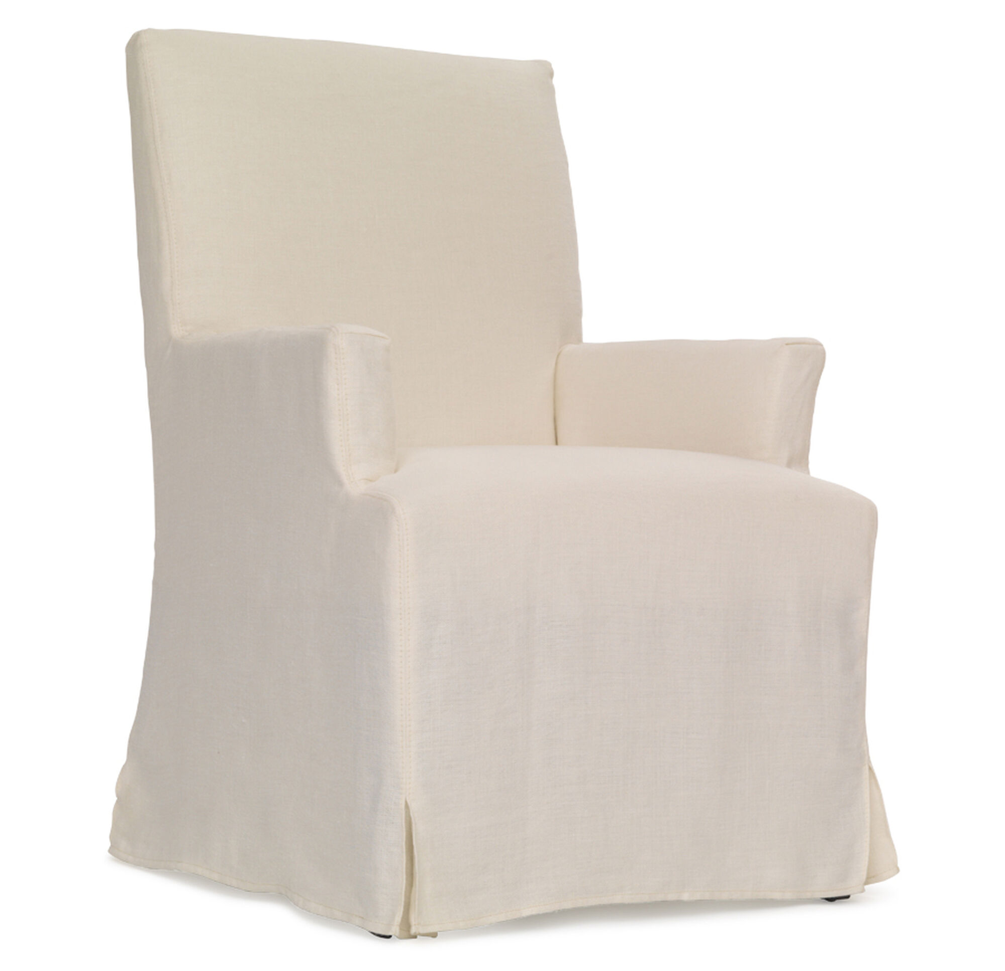 free today home arm slipcover chair shipping ruffled garden overstock product cotton