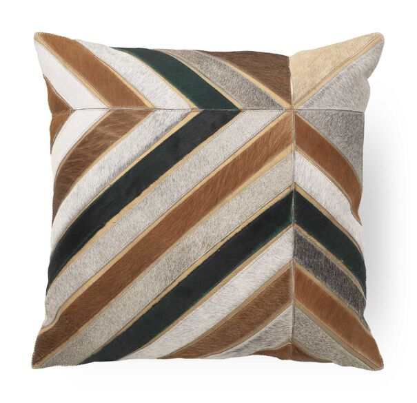 "HAIR ON HIDE 22"" X 22"" ACCENT PILLOW, , hi-res"