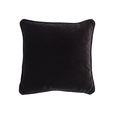 17 IN. SQUARE THROW PILLOW, LINLEY - CHARCOAL, hi-res