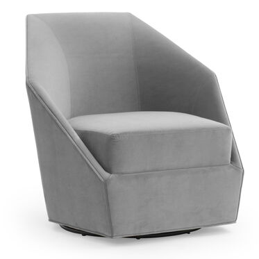 JEWEL FULL SWIVEL CHAIR, VIVID - SILVER, hi-res