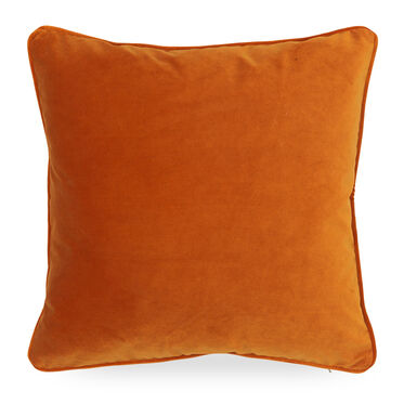 21 IN. SQUARE THROW PILLOW, VIVID - BLOOD ORANGE, hi-res