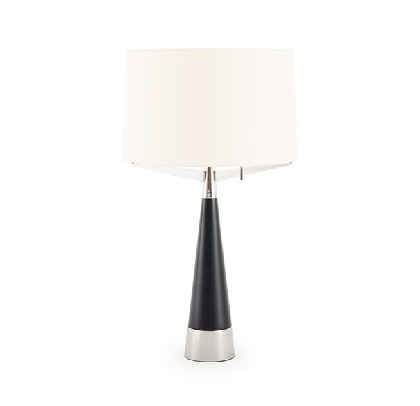 LUCA TABLE LAMP - POLISHED NICKEL, , hi-res