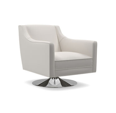 CARA SWIVEL CHAIR, PHIPPS - STONE, hi-res