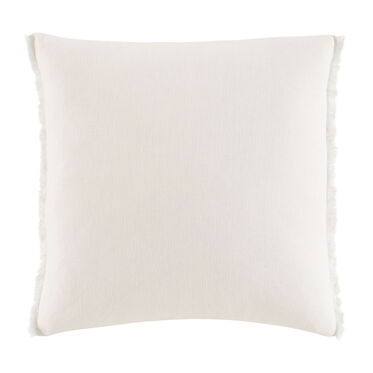 FRINGE LINEN PILLOW 20 X 20, , hi-res