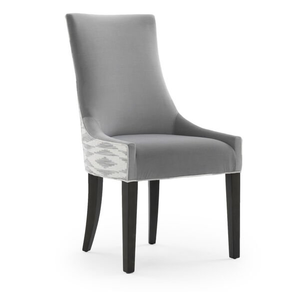 ADA SIDE DINING CHAIR, VIVID - SILVER, hi-res