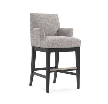 ANTHONY RETURN SWIVEL BAR STOOL - WITH ARMS, , hi-res