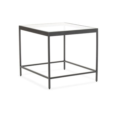 VIENNA SIDE TABLE - PEWTER, , hi-res