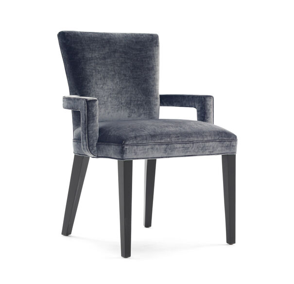 SIDNEY ARM DINING CHAIR, BODEN - SLATE, hi-res