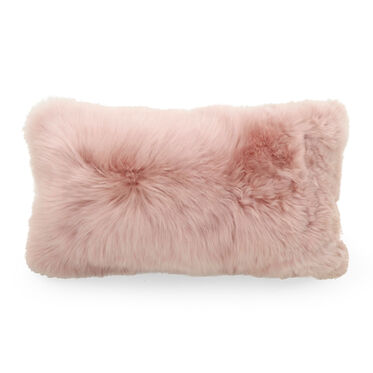 ALPACA PILLOW - BLUSH 22 X 11, , hi-res