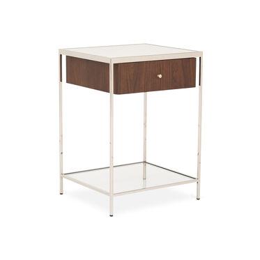 MANNING 20 SIDE TABLE - WALNUT, , hi-res