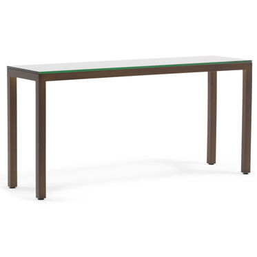 CLASSIC PARSONS CONSOLE TABLE - VINTAGE BRASS, , hi-res