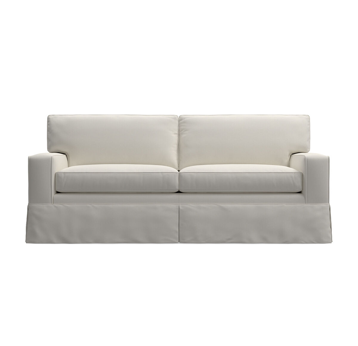 ALEX II LUXE QUEEN SLIPCOVER SLEEPER SOFA LOOSE SKIRT