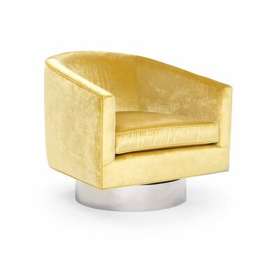 BIANCA RETURN SWIVEL CHAIR, EVERSON - CANARY, hi-res