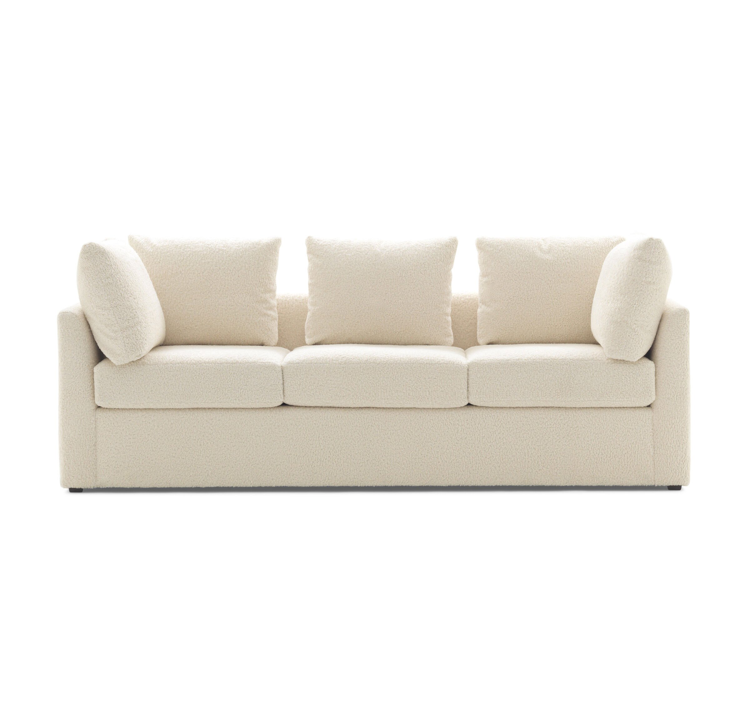 Genial PITT SOFA, SHERPA   NATURAL, Hi Res