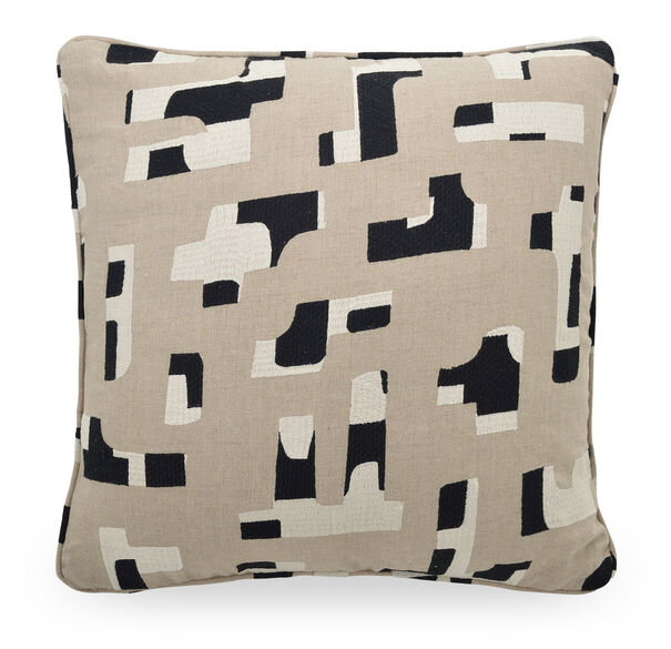 22 IN. X 22 IN. DOWN ACCENT PILLOW, TERRAIN - STONE, hi-res