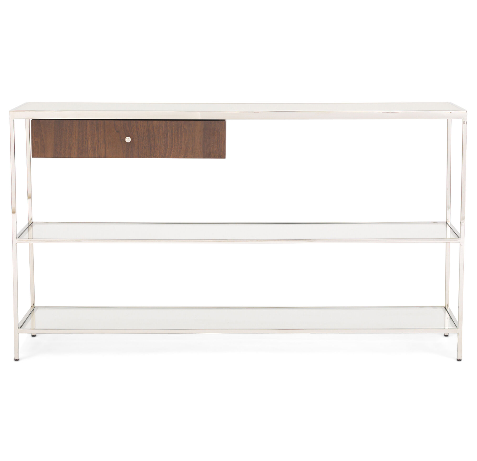 Manning console table walnut for Sofa table vs console table