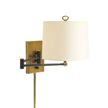 WATTS SCONCE - ANTIQUE BRONZE AND BRASS, , hi-res