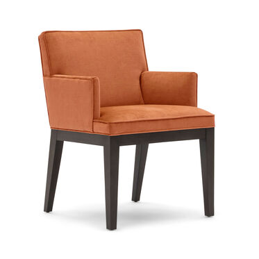 CAMERON ARM DINING CHAIR, PIPPIN - PERSIMMON, hi-res