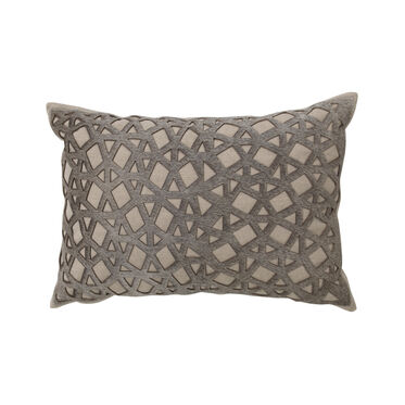 LASER CUT HAIR ON HIDE THROW PILLOW, , hi-res
