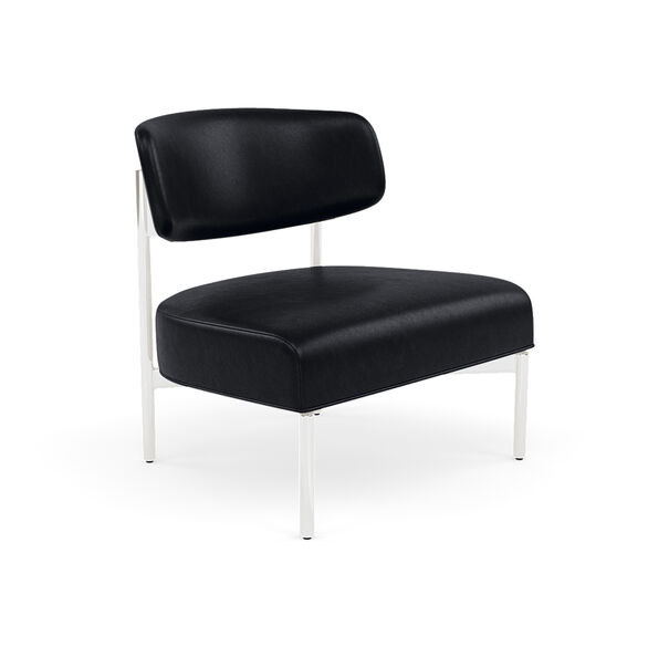 REMY LEATHER CHAIR, MONT BLANC - BLUE SMOKE, hi-res