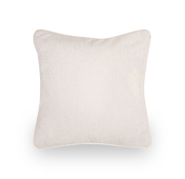 17 IN. SQUARE THROW PILLOW, CASON - WHITE, hi-res