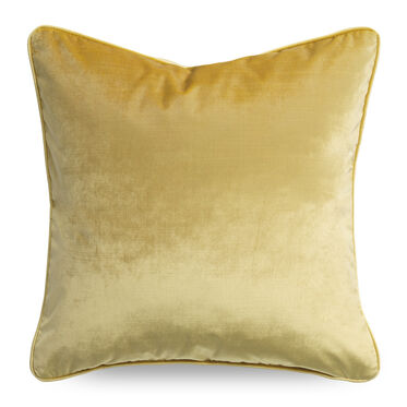 21 IN. SQUARE THROW PILLOW, EVERSON - CANARY, hi-res