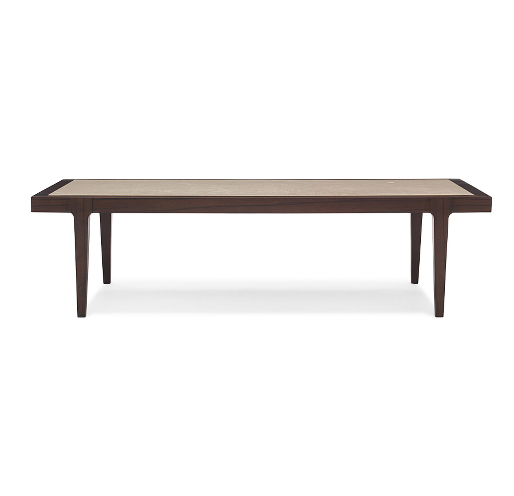Reeve Mid Century Rectangular Coffee Table: REEVE RECTANGLE COCKTAIL TABLE