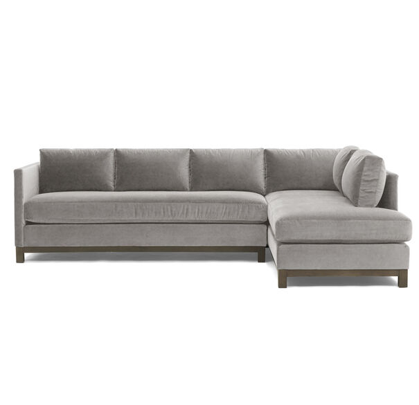 CLIFTON LEFT SECTIONAL, VIVID - SILVER, hi-res