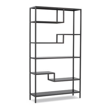 FILMORE BOOKCASE - PEWTER, , hi-res