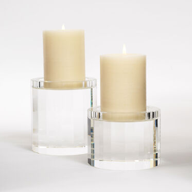 CRYSTAL CANDLEHOLDERS, , hi-res