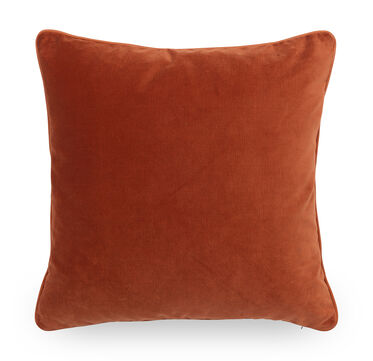21 IN. SQUARE THROW PILLOW, AVIGNON - ORANGE, hi-res