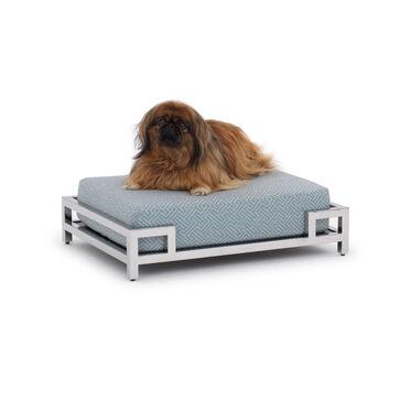 SMALL DOG BED, KEYS - SKY BLUE, hi-res