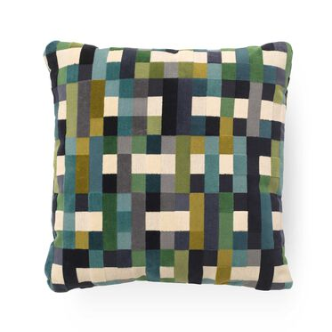 SINGLE 20X20 DOWN ACCENT PILLOW, PIXEL - MULTI, hi-res