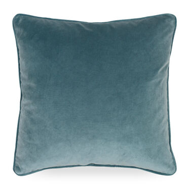 17 IN. SQUARE THROW PILLOW, VIVID - AZURE, hi-res