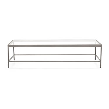 VIENNA RECTANGLE COCKTAIL TABLE - PEWTER, , hi-res